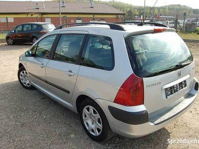 używany Peugeot 307 SW 1.6dm3 110KM 2004r. 250 000km VIN/Przebieg gwar./Tempomat/Klimatronik/Zadbany/Import