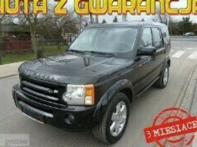 używany Land Rover Discovery 3 *BLACK EDITION*AUTOMAT*NAWIGACJA*XENONY*Napęd 4x4*Skóra*Podgrzewane