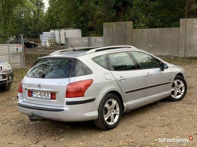 używany Peugeot 407 SW 2dm 136KM 2006r. 220 000km