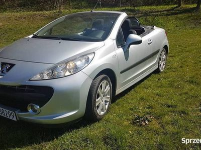 używany Peugeot 207 CC rocznik 2007 1.6 benzyna