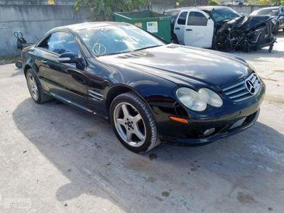 używany Mercedes SL500 Klasa SL R2305.0 benz. V8 302KM automat cabrio 08/2002
