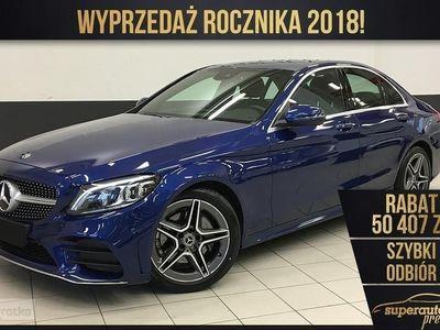 używany Mercedes 200 Klasa C W205 1.54MATIC (184KM) | AMG + Parktronic | Największy wybór aut!, Chorzów