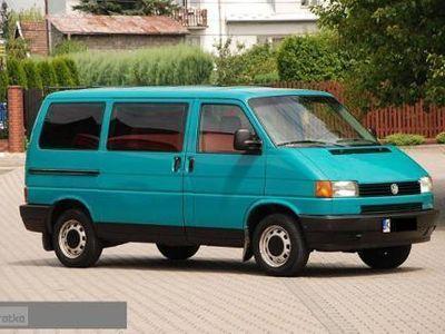 używany VW Transporter T4 9-osobowy, zarejestrowany w Polsce