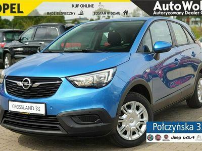 używany Opel Crossland X 1.2dm 110KM 2020r. 8km