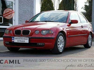 używany BMW 316 1.8dm 116KM 2002r. 249 000km