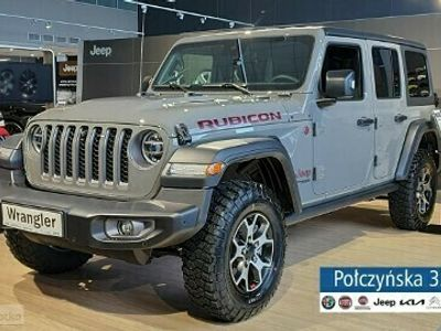 używany Jeep Wrangler III [JK] JL Unlimited Rubicon 2.0 272 | StingGrey / Czarna skóra | Kamera prz