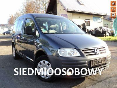 używany VW Caddy Life 1.9 TDI 75 KM Klimatyzacja 7 Osób Kredyt Bez BIK i KRD