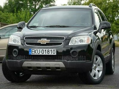 używany Chevrolet Captiva Opłacona 2.4i Serwis 7-os. PDC Alu Gwarancja I (2006-2011)
