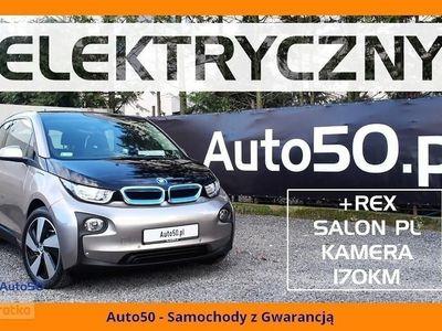 używany BMW i3 I +REx SALON POLSKA Navi GWARANCJA Kamera VAT23%
