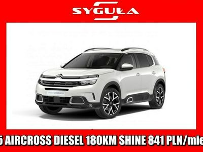 używany Citroën C5 Aircross 1.6dm 180KM 2020r. 5km