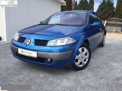 używany Renault Mégane 1.6dm3 115KM 2004r. 189 321km zadbany 1 WŁAŚCICIEL serwisowany