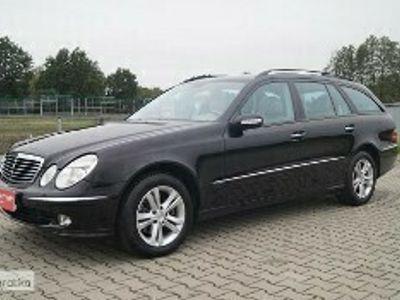 używany Mercedes 280 Klasa E W211AVANTGARDE SKÓRA NAVI AUTOMAT Z NIEMIEC