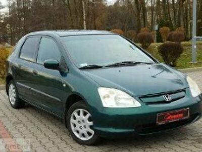 używany Honda Civic VII Zarejestrowany - 5 drzwi - klimatyzacja - benzyna