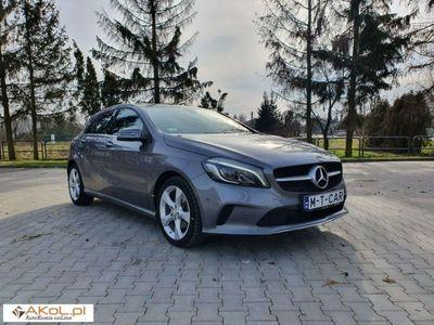 używany Mercedes A180 1.6dm 122KM 2016r. 46 000km