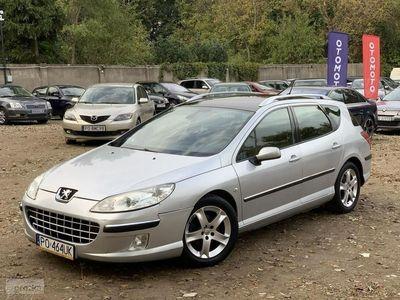 używany Peugeot 407 2.0 136km Panorama Dach Klimatronic Możliwa Zamiana i Kredyt