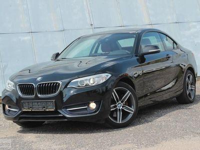używany BMW 220 SERIA 2 coupe d SPORT * Bogate wyposażenie