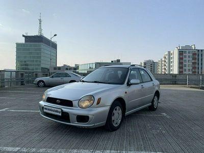 używany Subaru Impreza 1.6 benz Klima 4x4 Zarejestrowany w PL GD (2001-2007)