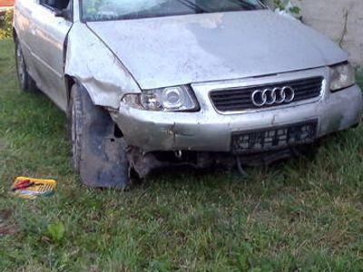 używany Audi A3 po wypadku
