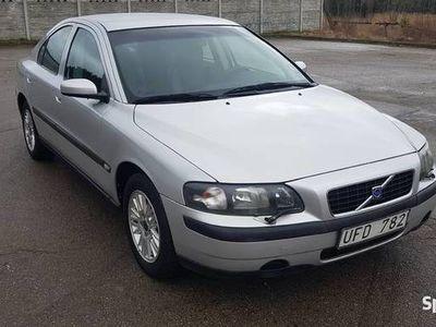 używany Volvo S60 2.4 BENZYNA 140KM 2003 rok w bardzo dobrym stanie