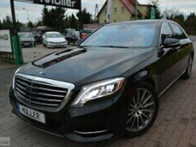 używany Mercedes S550 Klasa S W2225,0Benzyna-456Km,LONG, FULL OPCJA!!