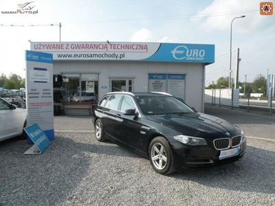 używany BMW 525 2dm3 217KM 2014r. 138 000km 2.0 D 217 KM XDRIVE Automat Salon Polska