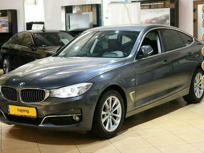 używany BMW 318 3GT d, Luxury Line + Pakiety i NAVI, Gwarancja x5, salon PL, fv VAT 23