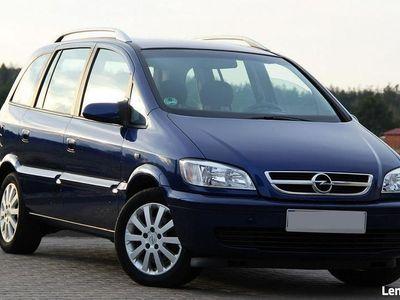 używany Opel Zafira 1.8dm3 125KM 2005r. 234 613km 125KM Lift Klimatronik NjoY Niemcy