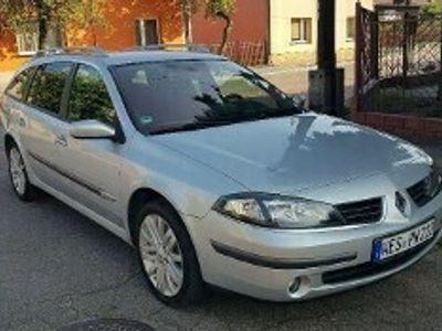używany Renault Laguna II FAJNA WERSJA NAVI DVD Alumy Skóra Parktronik