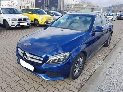 używany Mercedes C200 klasa C 1.6dm3 136KM 2018r. 34 554km -benz(BlueTEC) d 7G-TRONIC, FV 23%, Gwarancja!!