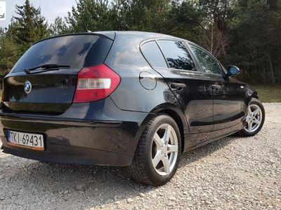 używany BMW 118 seria 1 2dm3 122KM 2006r. 220 572km d 2,0d 122KM climatronic CZARNA PERŁA Warto !!!