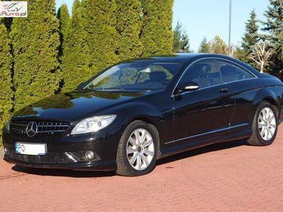 używany Mercedes CL500 5.5dm3 388KM 2008r. 207 000km ABS automatyczna klima.
