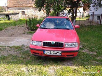 używany Skoda Octavia 1998 czerwona