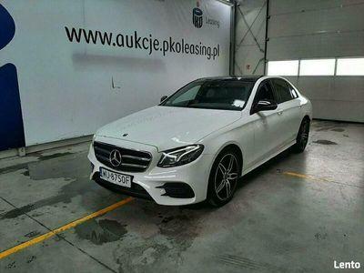 używany Mercedes E220 2dm 195KM 2017r. 131 924km