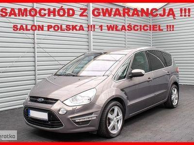 używany Ford S-MAX 7 os.+ Salon PL + 1 WŁ.+ Xenon + SONY + Serwis + CONVERSE !!!, Leszno