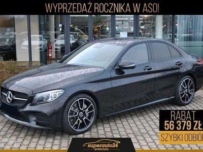 używany Mercedes C200 Klasa C W205 Linia AMG 1.54MATIC (184KM) | AMG + Pakiet Premium + Night + B, Chorzów