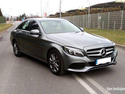 używany Mercedes C200 2017r. 9biegów, Niski przebieg, Gwarancja