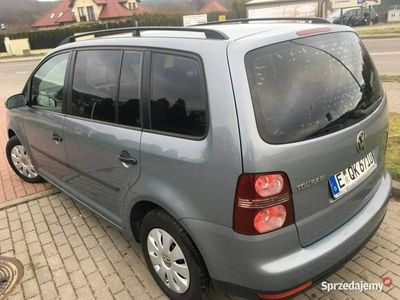 używany VW Touran I VIN/7 osobowy/Po liftingu/Przebieg gwarant/10*airbag/Niemcy, Wejherowo