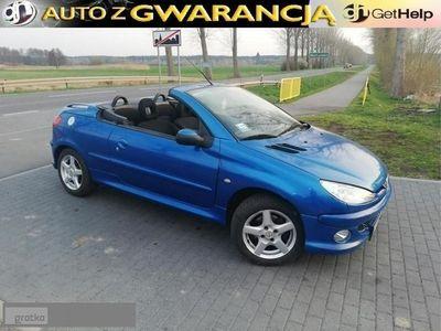 używany Peugeot 206 CC 1.6dm 109KM 2001r. 150 600km
