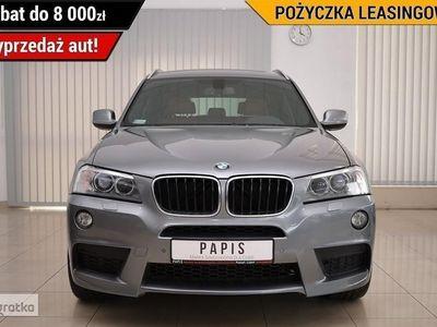 używany BMW X3 II (F25) M-Pakiet SalonPL ASO AWD Climatronik Keyless Nawi Tempomat PAPIS