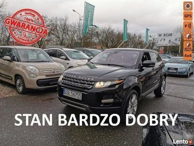 używany Land Rover Range Rover evoque 2dm 240KM 2013r. 136 826km
