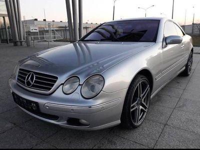 używany Mercedes CL500 AMG 215, 2001r. IDEALNY STAN