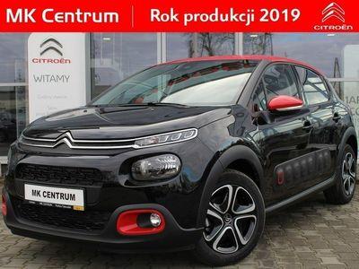 używany Citroën C3 1.2dm3 110KM 2019r. 5km SHINE 110 KM - klima auto, czujniki, koła 16'', kamera cofania 2019 !