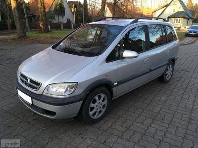 używany Opel Zafira A LIFT 2003 rok 2.0 diesel 7-OSÓB climatronic