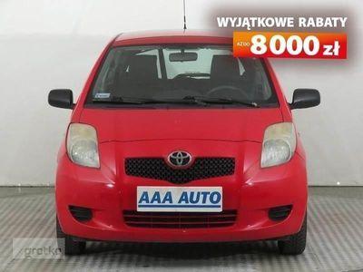używany Toyota Yaris II Salon Polska, Serwis ASO, Klima ,Bezkolizyjny