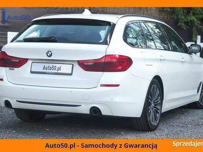 używany BMW 518 d 150KM SPORTLINE SALON POLSKA Ambient VAT23%