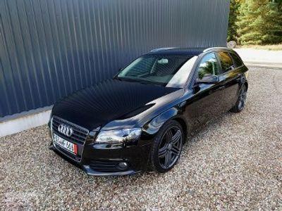używany Audi A4 IV (B8) Zobacz jakie Bogate z Radarem Alkantarą Jak nowe