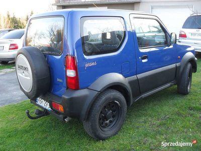 używany Suzuki Jimny 1.3 benzyna +lpg 4x4