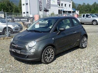 używany Fiat 500 1.2dm 69KM 2015r. 28 000km