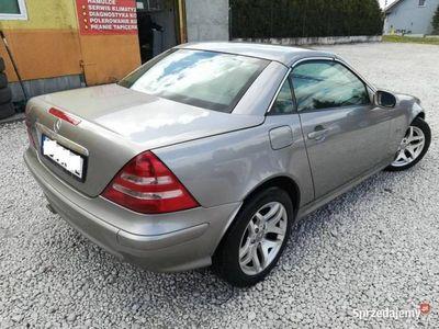 używany Mercedes SLK200 kabriolet Super Stan Zarejestrowany Klimatyzacja