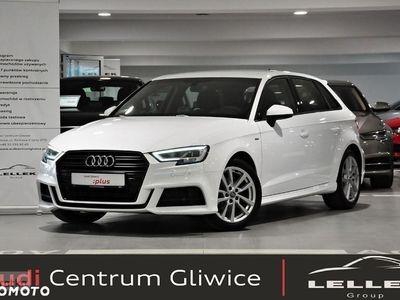 używany Audi A3 1.5TFSI 150KM, reflektory led, klucz komfortowy,